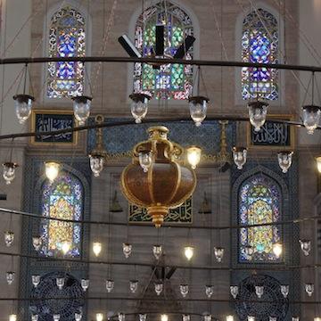 Innenraum der Süleymaniye-Moschee