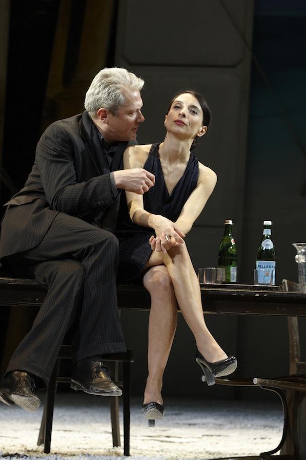 Herbert Föttinger (Benjamin Rubin), Ruth Brauer-Kvam (Gina Wegner)